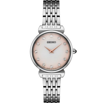 Stainless Steel Watch w/ MOP Face