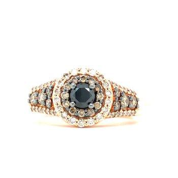 14KR Diamond Fashion Ring w/ 0.80 ctw, Size 7
