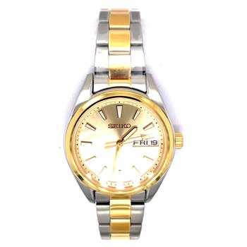 Stainless Steel Women's Two Tone Watch