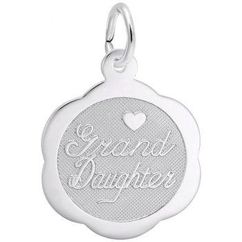 Sterling Silver Granddaughter Charm