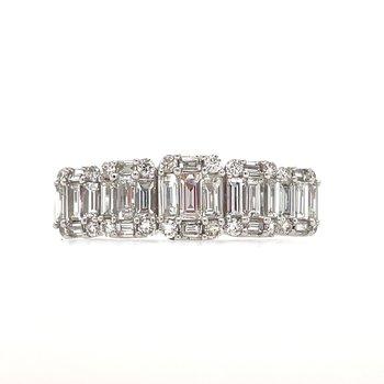 14KW Diamond Baguette Ring w/ 1.0 ctw