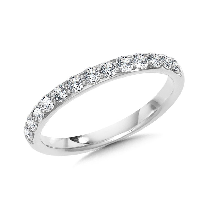 Green Brothers Collection 14KW Diamond Wedding Band w/ 0.34 ctw Size 7