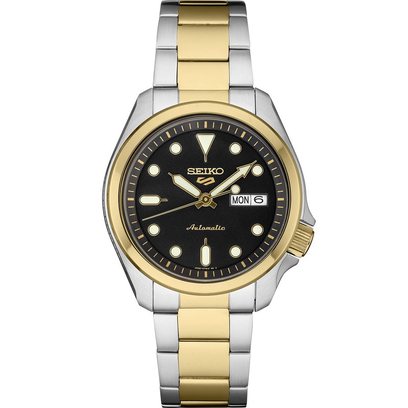 Seiko Watches In Stock Two-Tone Stainless Steel Men's Watch