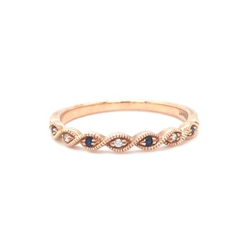 10 KR Sapphire Stackable Ring