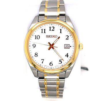 Stainless Steel Men's Two-Tone Watch