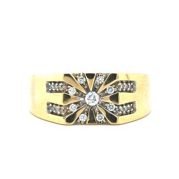 10KY Diamond Ring w/ 0.20 ctw, Size 10.5