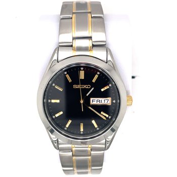 Stainless Steel Men's Watch Two Tone