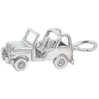 Sterling Silver Off Road Vehicle Charm