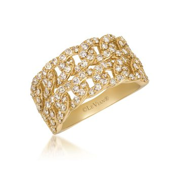 14KY Diamond Fashion Ring w/ 1.29 ctw, Size 7