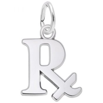 Sterling Silver Pharmacy Charm