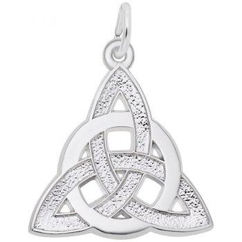 Sterling Silver Celtic Circle of Life Charm