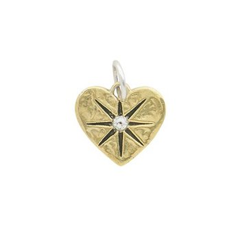 Guided By Heart Compass Pendant