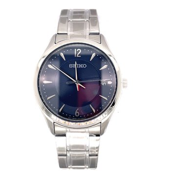 White Stainless Steel Casual Watch