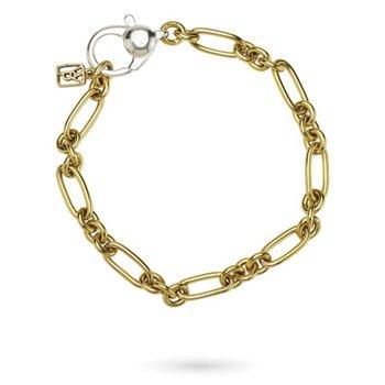 """Sterling Silver & Brass The Invocation Bracelet 8"""""""