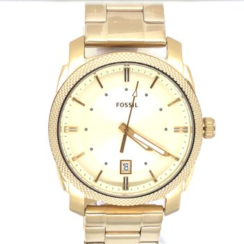 Stainless Steel Round Gold Face