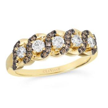 14KY Diamond Fashion Ring w/ 0.62 ctw, Size 7