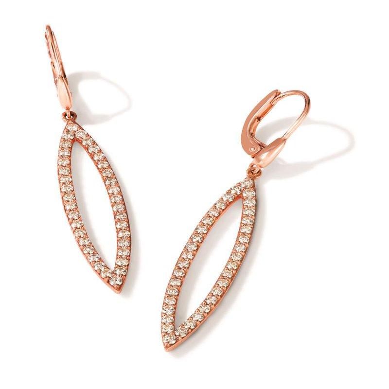 Le Vian In Stock 14KRG Nude Diamond Earrings w/ 1.74 ctw