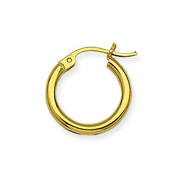 10kt Yellow Gold Hoops