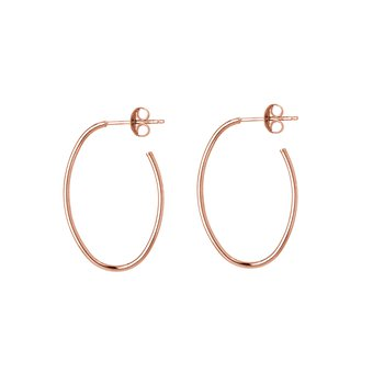14kt Rose Gold Hoops