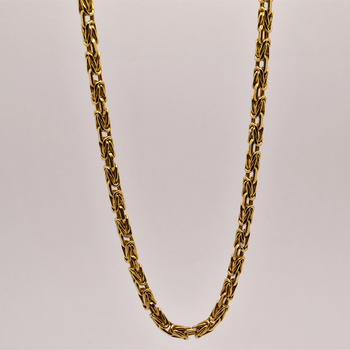 """25"""" 14KT Yellow Gold Heavy Link Chain"""