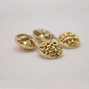 14KT and 18KT yellow gold Cuff Links