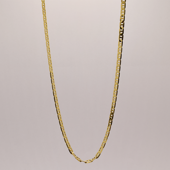 """18"""" 14KT Yellow Gold Anchor Link Chain"""