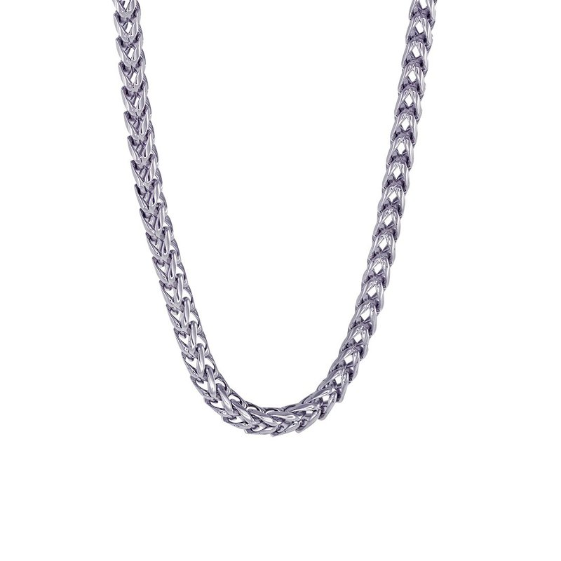 """Best Sellers 24"""" Stainless Steel Franco Chain"""