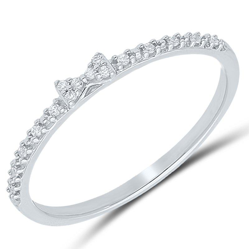 Best Sellers Lady's 10k White Gold Diamond Ring