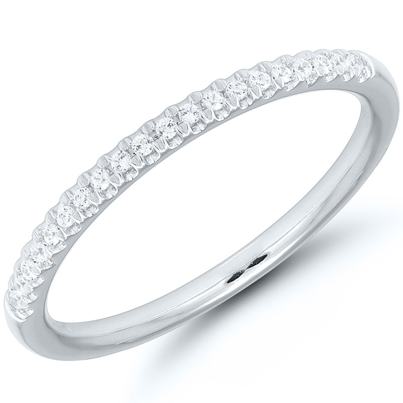 Best Sellers Lady's 10k White Gold Diamond Band