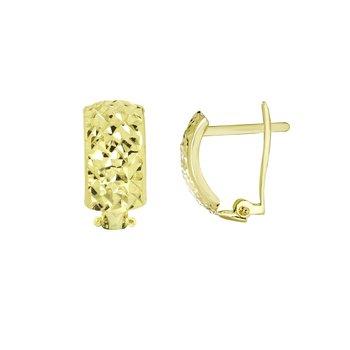10kt Clip Back Earring