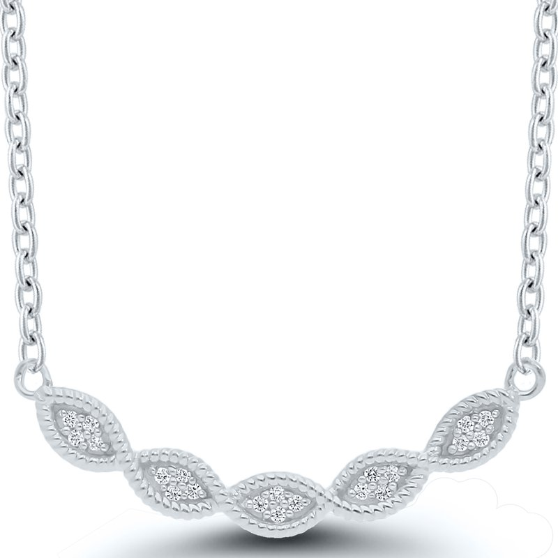 Best Sellers Lady's Sterling Diamond Necklace