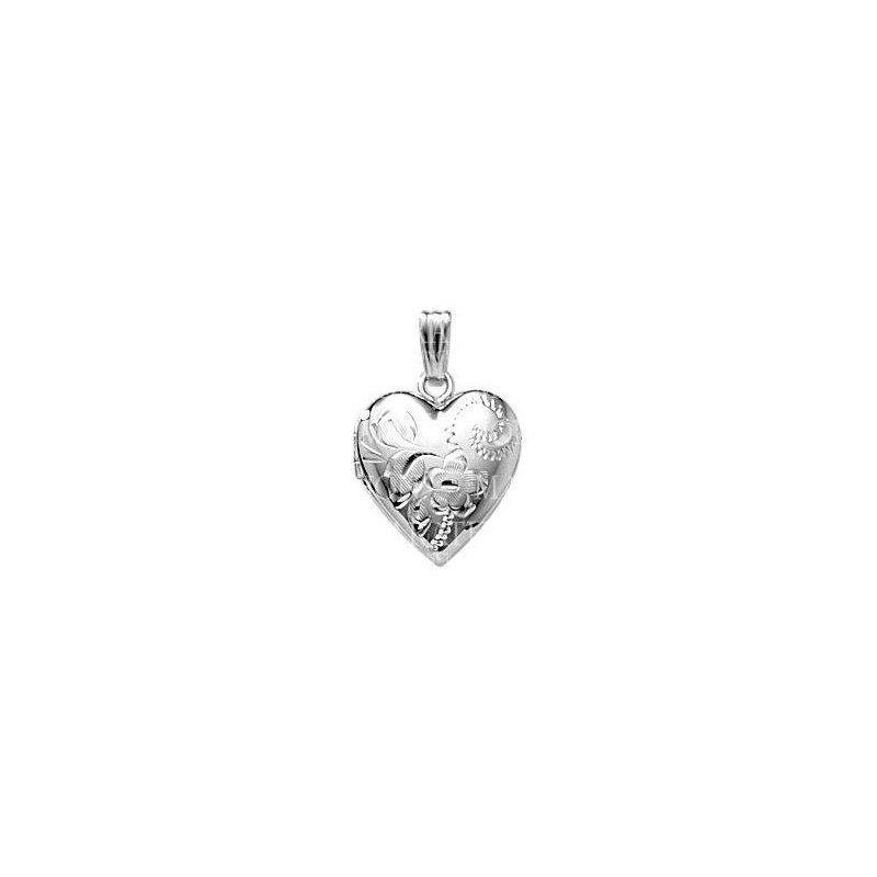 Best Sellers Sterling Silver Heart Locket/Chain