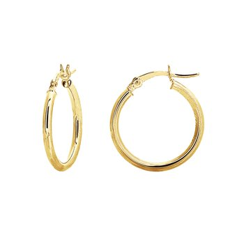 20mm 14kt Yellow Gold Hoops