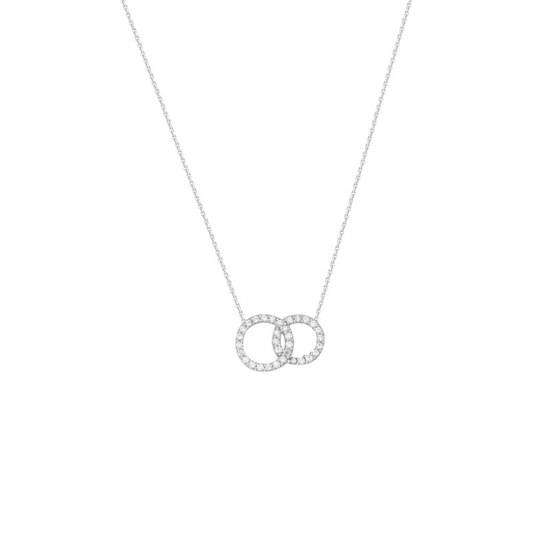 Best Sellers Sterling Silver Interlocked Circle Necklace