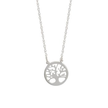 "Sterling Silver ""Tree of Life"" Necklace with 18"" Chain"