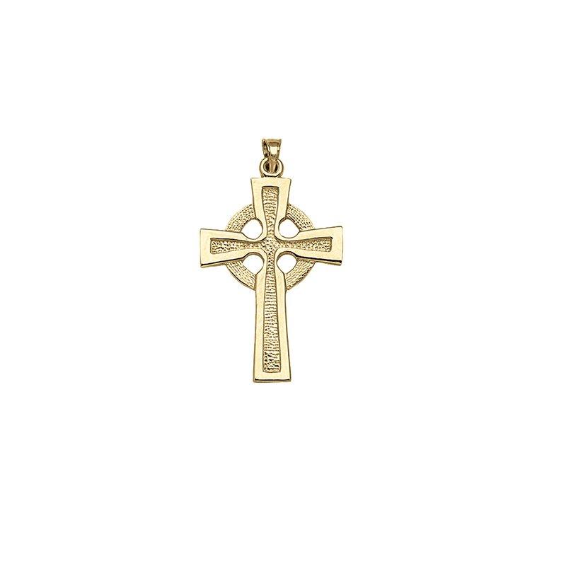 Best Sellers 14kt Yellow Gold Celtic Cross