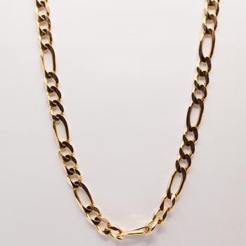 """10KT Yellow Gold 20"""" Figaro Chain"""