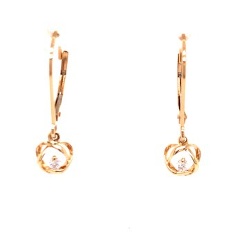 Time and Eternity Diamond Earrings