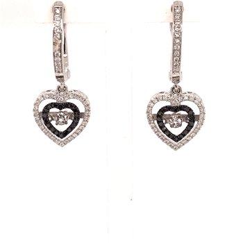 Rhythm Of Love Diamond Earrings