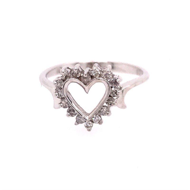 Estate Heart Ring
