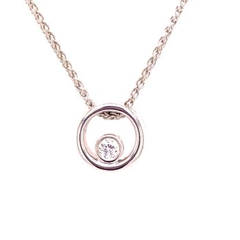 Eternal Love Diamond Pendant