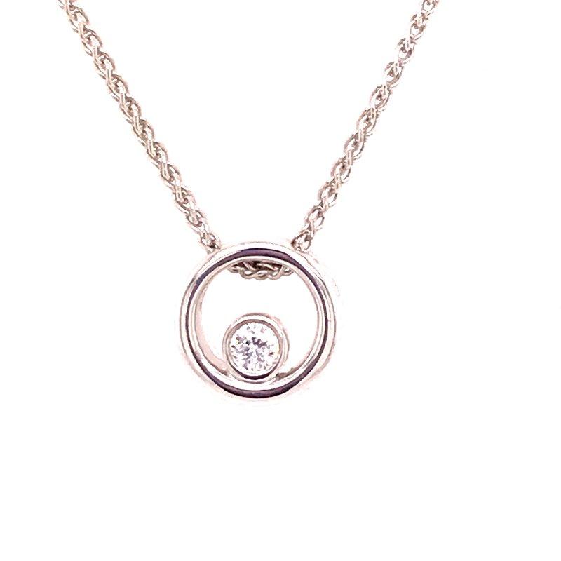 Dean's Signature Eternal Love Diamond Pendant