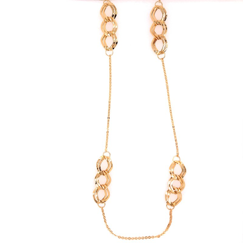 Gold Fashion Gold Fashion Necklace