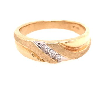 Diamond Wedding Band - Men's
