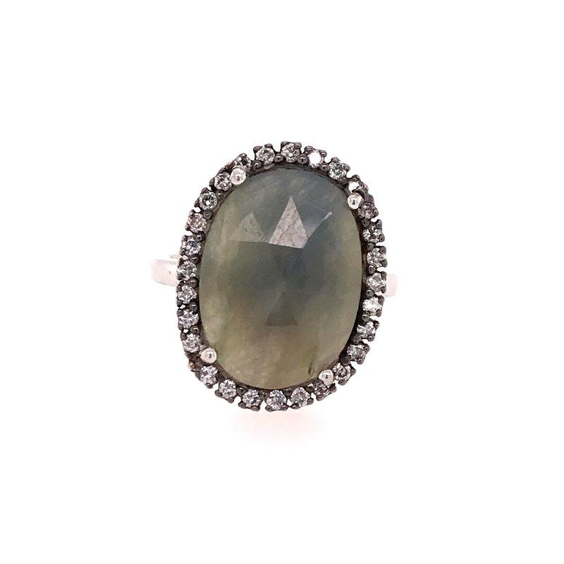 Colored Stone Fashion Sapphire Fashion Ring