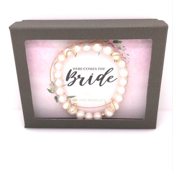 Here Comes The Bride Bracelet
