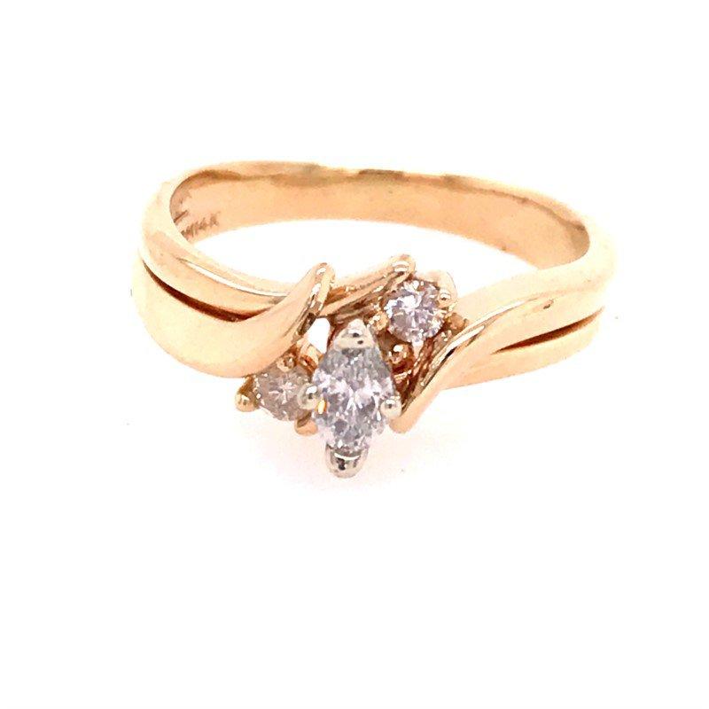 Estate Diamond Bridal Set