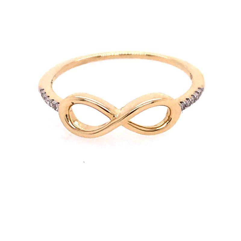 Diamond Fashion Infinity Ring