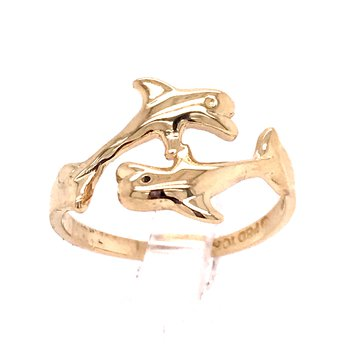 Dolphin Fashion Ring