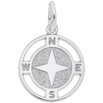 Nautical Compass Charm